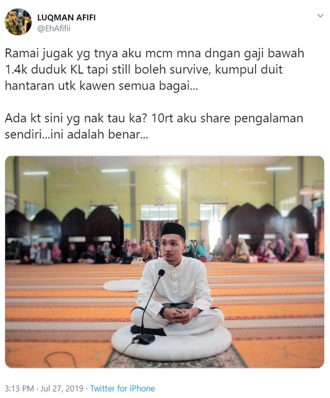 Gaji Bawah RM1.4K, Lelaki Ini Kongsi Tip Kumpul Duit Kahwin Sampai RM18K Dalam Setahun! 1